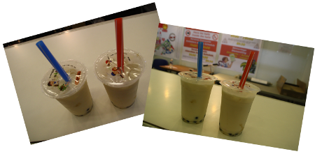 Bubble teas