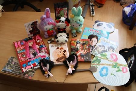 Tous mes achats à la Japan Expo 2011