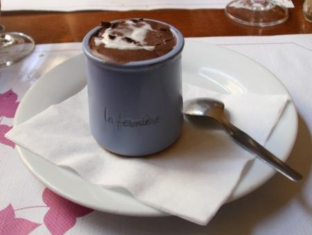 Mousse au chocolat chez la Casuccia