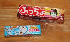 Des chewing-gums au soda et au coca