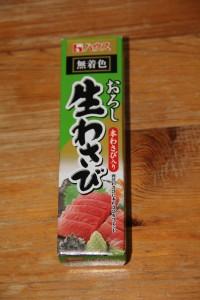 Un tube de wasabi !