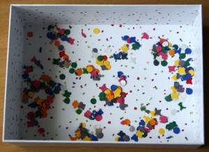 Des confettis dans la box !