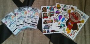 Des stickers