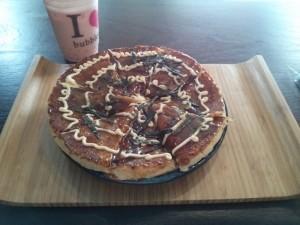 Okonomiyaki au poulet