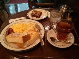 Menu rich morning du Takagi coffee