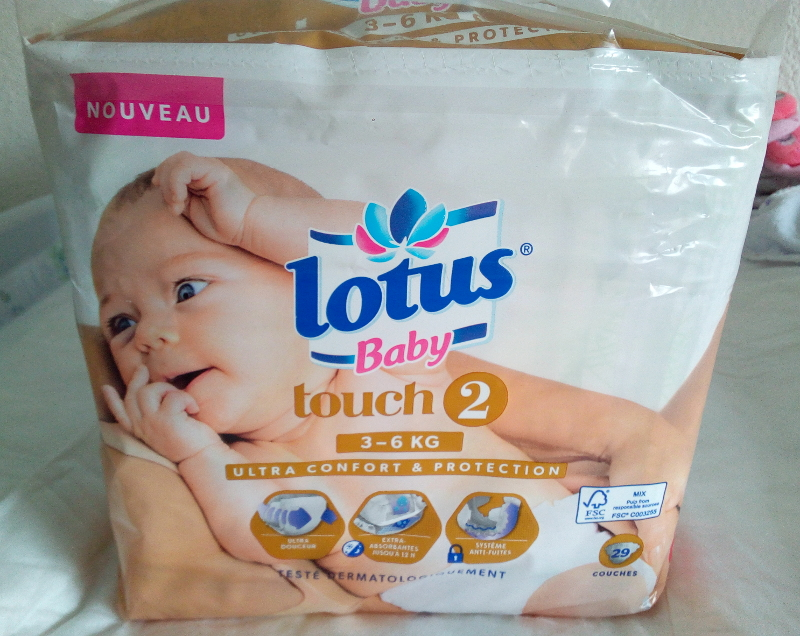 Couches Lotus Baby Touch